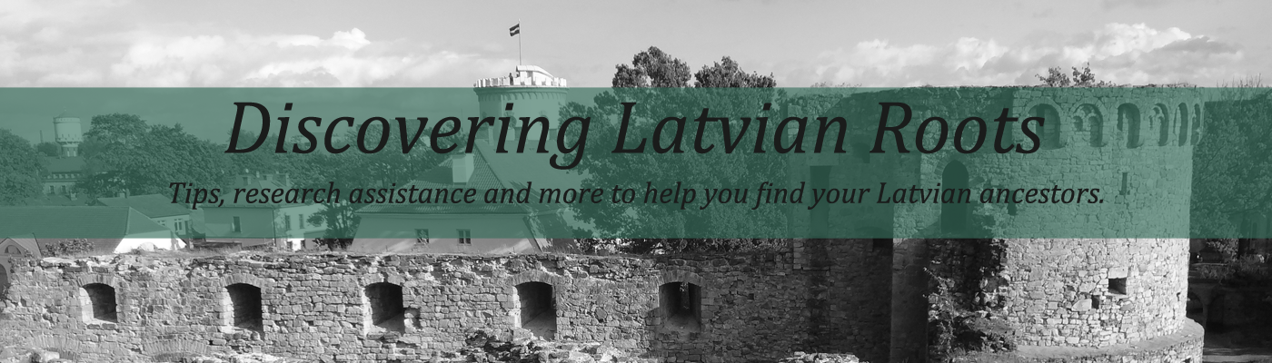 Discovering Latvian Roots